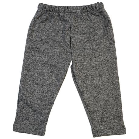 Spodnie chłopięce długie bawełniane melanż