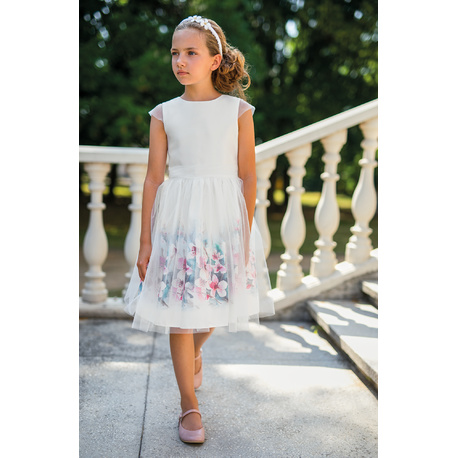 Sukienka wizytowa dla dziewczynki 33/SM/20, z tiulem, na przebranie, sklep e-zygzak.pl