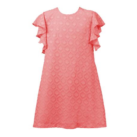 Sukienka dla dziewczynki Paula koralowa, na komunię, na wesele, letnia, sklep internetowy