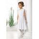Elegancka sukienka pokomunijna dla dziewczynki Evelyn, na wesela,hit 2020, komunia, sklep e-zygzak.pl