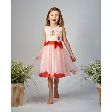Sukienka balowa dla dziewczynki April, na wesela, okazjonalna, wizytowa, sklep e-zygzak.pl
