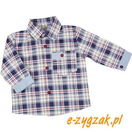 Koszula dla chłopca w kratkę