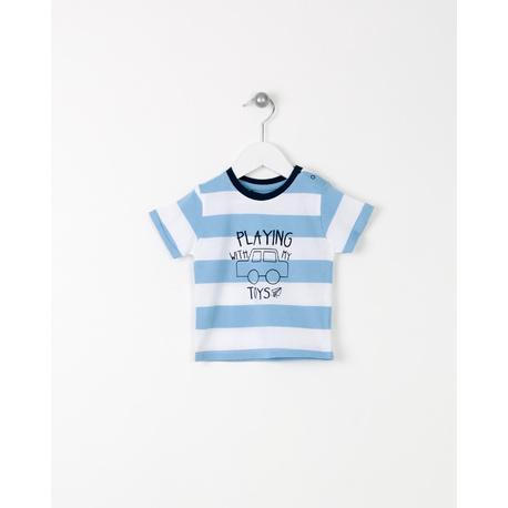 T-shirt paski LOSAN