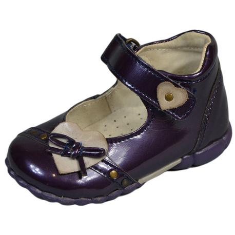 Buty dla dziewczynki Kornecki, lakierowane balerinki ,na rzep, e-zygzak.pl