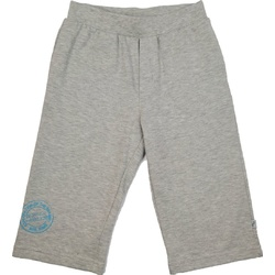 Bermudy dla chłopca bawełniane szary melanż, do t-shirtów, na lato, na sportowo, e-zygzak.pl