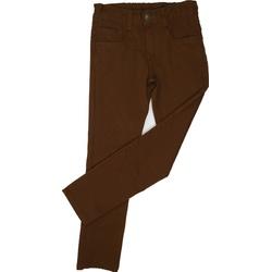 Spodnie bawełniane chłopięce brązowe, do szkoły, miecitkie, ubranka dla dzieci, e-zygzak.pl