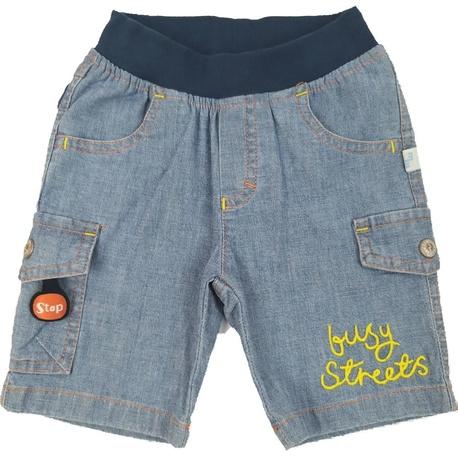 Bermudy dla chłopca jeans, na lato, mięciutkie ubranka dla dzieci ,sklep e-zygzak.pl