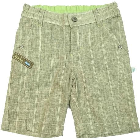 Bermudy chłopięce beżowe paski, na lato, do t-shirtów, sklep e-zygzak.pl