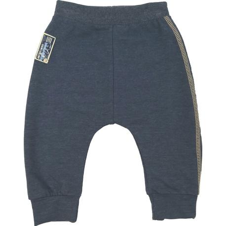 Granatowe spodnie dresowe dla chłopca MMDadak, na sportowo, ubranka dla dzieci, e-zygzak.pl