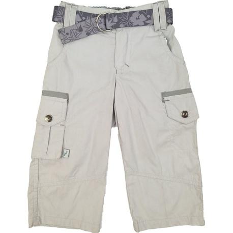 Szare letnie spodnie dla chłopca, bawełniane, ubranka dla dzieci, e-zygzak.pl