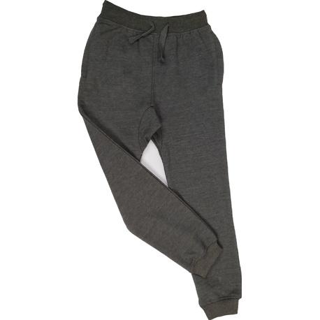 Spodnie bawełniane chłopięce szary melanż, wygodne ubranka dla dzieci, sklep e-zygzak.pl