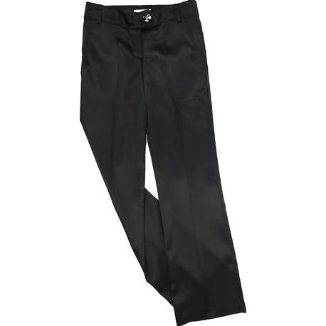 Eleganckie spodnie dla dziewczynki czarne, do szkoły, ubranka wizytowe dla dziewczynek, e-zygzak.pl