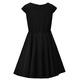 Czarna sukienka dla dziewczynki szkolna Barbie, wizytowe ubranka dla dziewczynek, sklep e-zygzak.pl