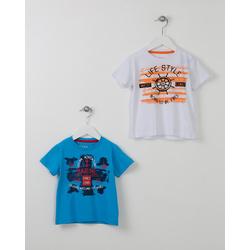T-shirt niebieski LOSAN