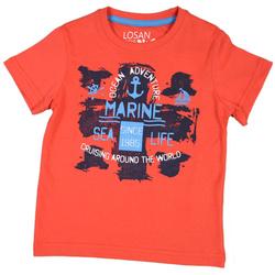 Czerwony t-shirt LOSAN
