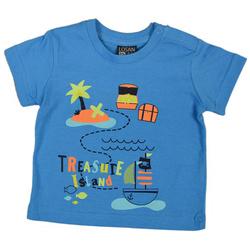 Niebieski t-shirt LOSAN