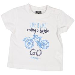 Biały t-shirt Losan