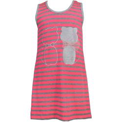 Sukienka w paski dla dziewczynki ANBOR