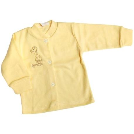 Kaftanik niemowlęcy Gamex żółty