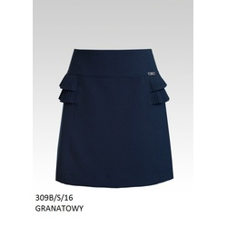 Granatowa spódnica SLY