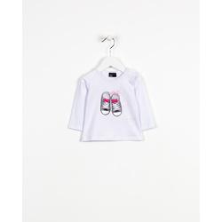 Biała bluzka z trampkami LOSAN