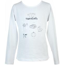 Biała bluzka dla dziewczynki LOSAN