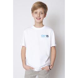 Biały t-shirt GF-5