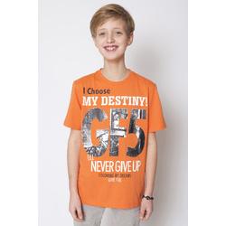 T-shirt pomarańczowy GF-5