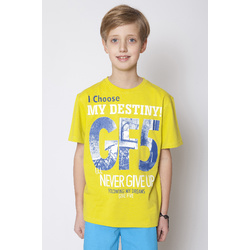 Limonkowy t-shirt GF-5