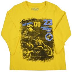 Żółta bluza dla chłopca LOSAN
