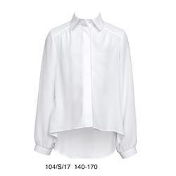 Biała wizytowa bluzka SLY