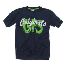 Granatowy t- shirt GF-5