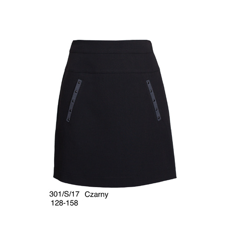 Czarna spódnica SLY