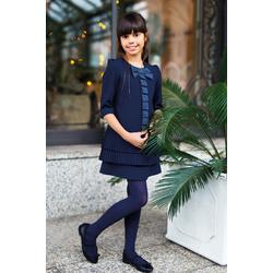 Granatowa sukienka SLY