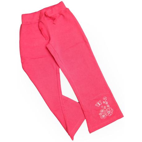 Amarantowe spodnie dresowe dla dziewczynki