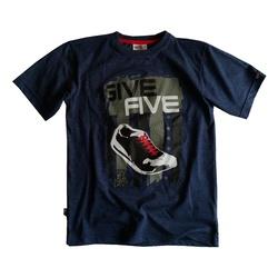 Grafitowy t- shirt chłopięcy