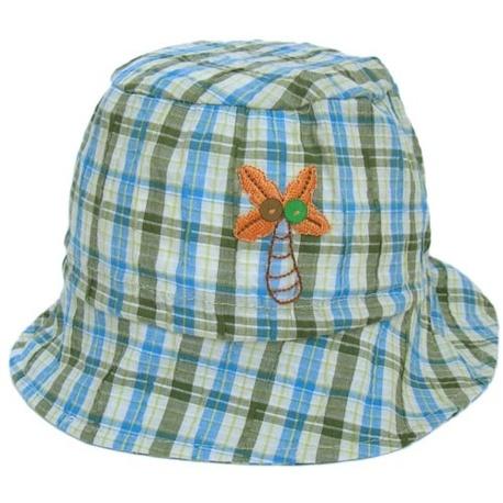 Letni kapelusik dla chłopca Kokos turkus