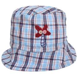 Letni kapelusik dla chłopca Kokos niebieski