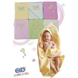 Okrycie kąpielowe dla niemowlaka Zajączek