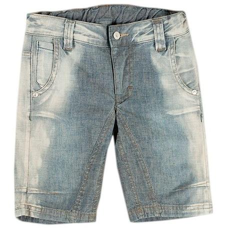 Bermudy jeansowe dla chłopca 4x4
