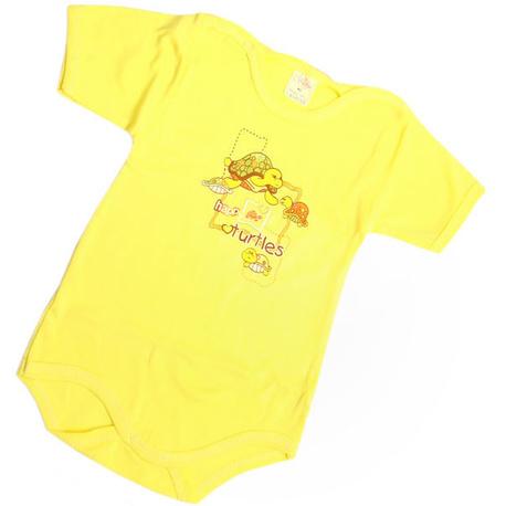 Rampers niemowlęcy ASIA żółty