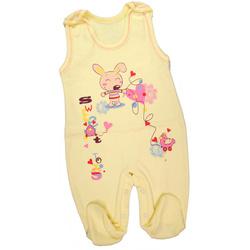 Śpioch niemowlęcy Dino żółty