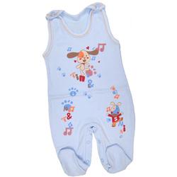 Śpioch niemowlęcy Dino niebieskie
