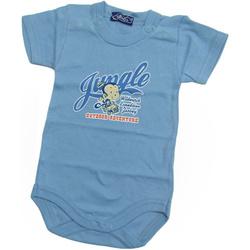 Rampers niemowlęcy TOMCIO ciemno-niebieski