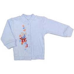 Kaftanik dziecięcy Dino niebieski