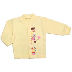 Kaftanik dziecięcy Dino żółte