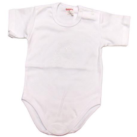 Białe body niemowlęce Gamex