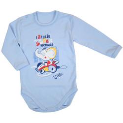 Body niemowlęce Dino niebieskie