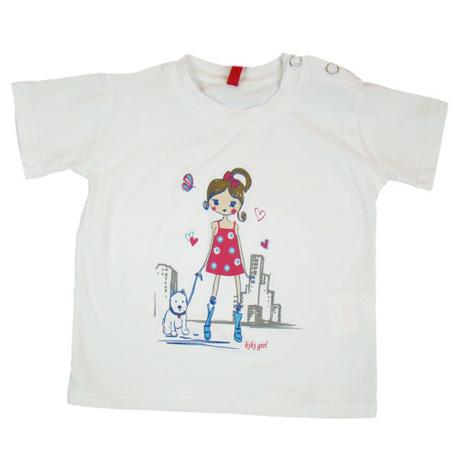 Biała bluzka dla dziewczynki