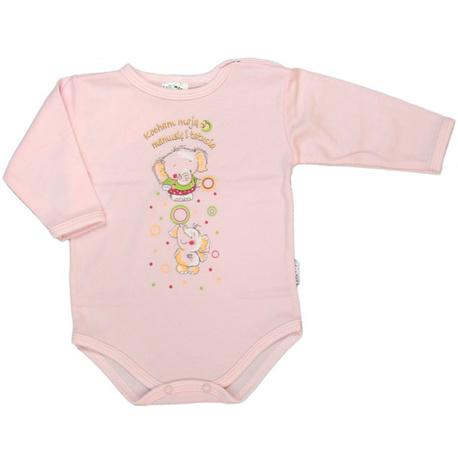 Body niemowlęce różowe - Salomea